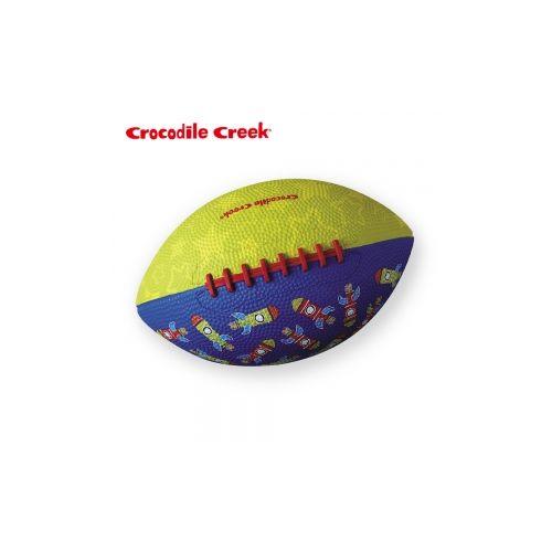 美國Crocodile Creek 兒童 遊戲橄欖球8吋~火箭~衛立兒 館~