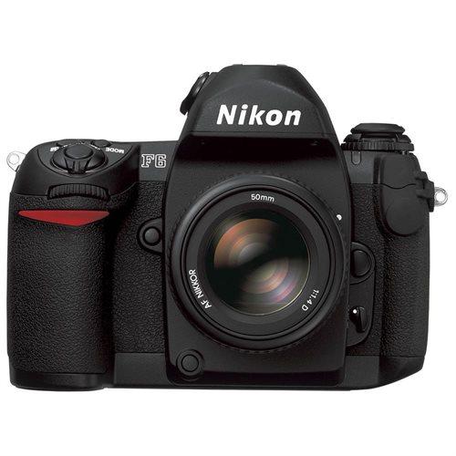 Nikon F6 35mm SLR Camera - 35mm - Black 0