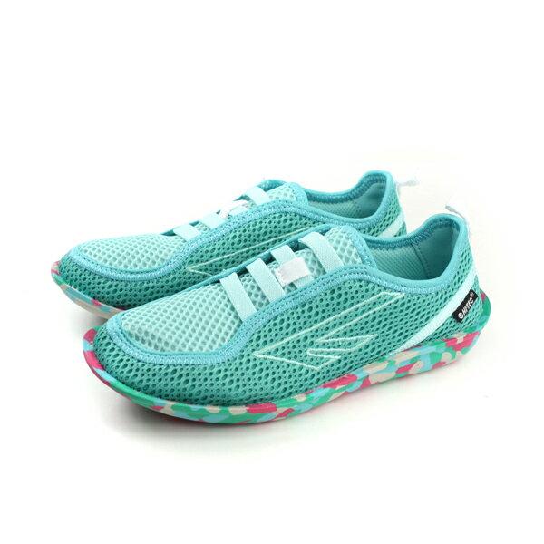 HUMAN PEACE:HI-TEC運動鞋透氣舒適好穿女鞋湖水綠綠色O006467061no007