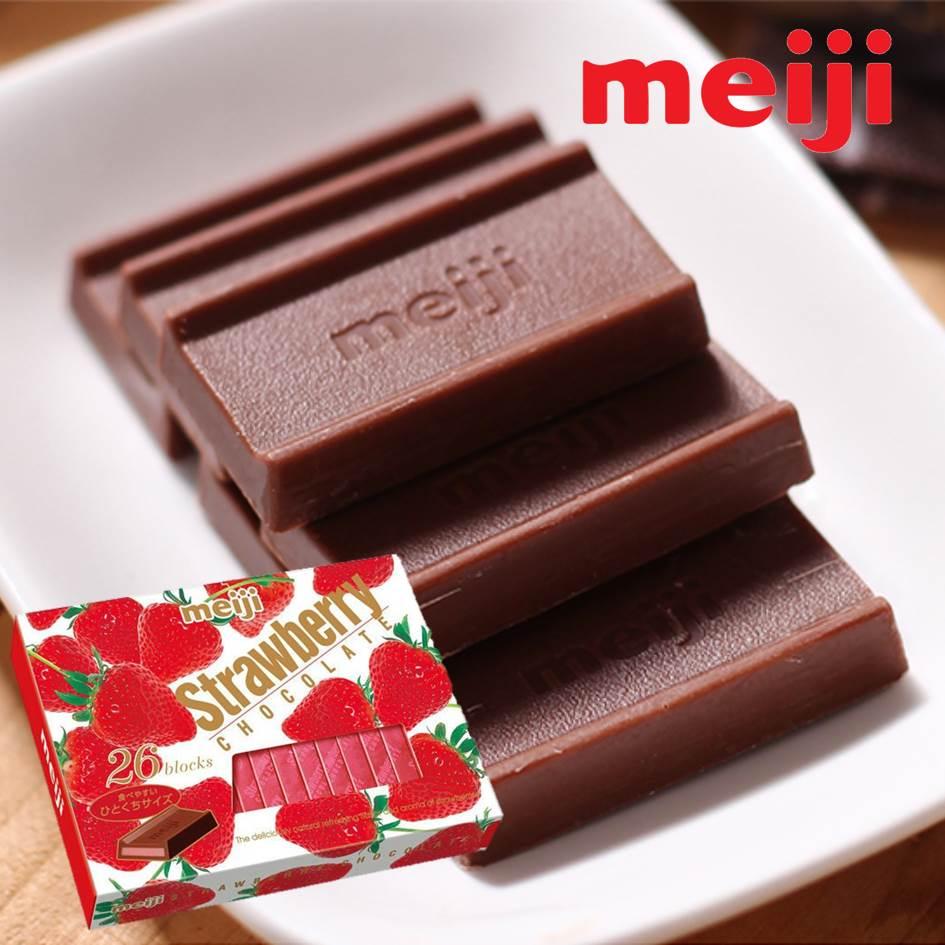 【Meiji明治】鋼琴巧克力26枚-牛奶 / 草莓 / 黑巧克力 チョコレート 3.18-4 / 7店休 暫停出貨 7