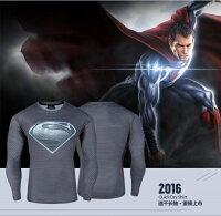 漫威英雄Marvel 周邊商品推薦50%OFF【A016206C】(長袖)暗黑超人大戰蝙蝠俠系列長T漫威DC卡通復仇者聯盟街頭男女可穿英雄牛奶絲長T