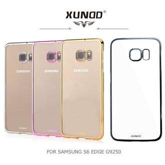~斯瑪鋒數位~XUNDD 訊迪 Samsung Galaxy S6 edge G9250 爵士電鍍保護殼 側翻皮套 保護套