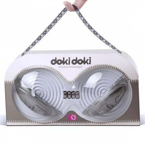 ◤按摩棒情趣按摩棒變頻按摩棒◥美國Funzone-Doki Doki 月牙灣 胸部鍛鍊器-金 【跳蛋 名器 自慰器 按摩棒 情趣用品 】