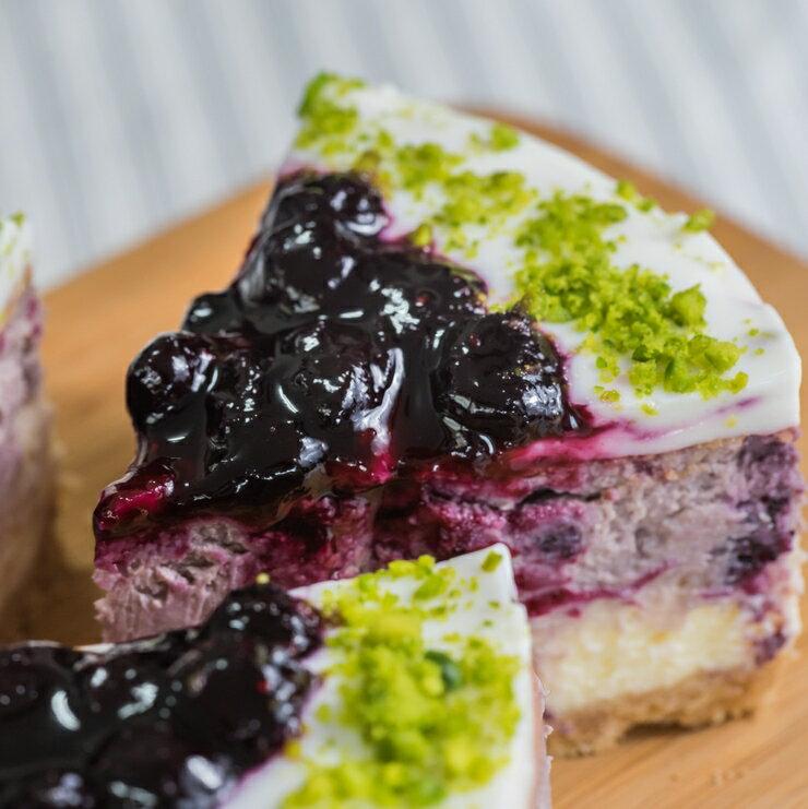 ^~^~^~貝利優格重乳酪蛋糕6吋 ^~^~^~ ^(每份870g^) 藍莓乳酪蛋糕 重乳