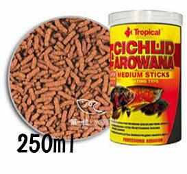 [第一佳水族寵物]波蘭德比克Tropical高蛋白龍魚.中大型魚成長飼料[250ml-小顆粒]免運(龍魚、花羅漢、慈鯛、淡水觀賞魚)