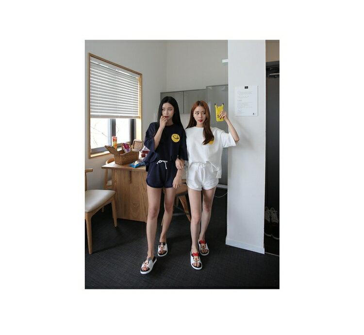韓國東大門閨蜜款 寬鬆素面運動套裝預購七天