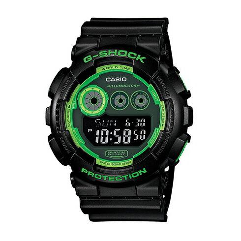 CASIO G~SHOCK GD~120N~1B3武裝街頭 腕錶  51mm