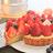 免運◆【食感旅程Palatability】6吋繽紛草莓塔 / 部落客強力推薦! 精選20顆有機大湖草莓+法式杏仁手工塔皮 2