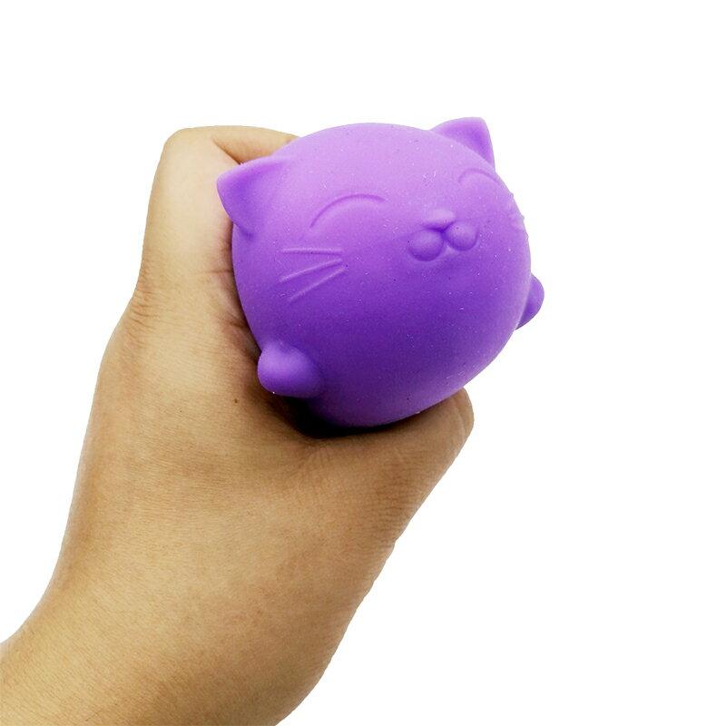 台灣現貨 可愛小貓豆腐貓壓力玩具 放鬆心情 減壓 舒壓 解壓 發洩手捏玩具 手握玩具 體積大 發泄手感好 創意禮物禮品 4