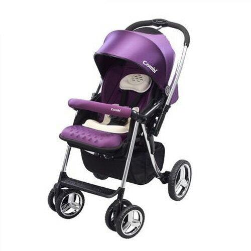 Combi康貝MegaRideDX嬰兒手推車-幻影紫(無腳套版)【悅兒園婦幼生活館】