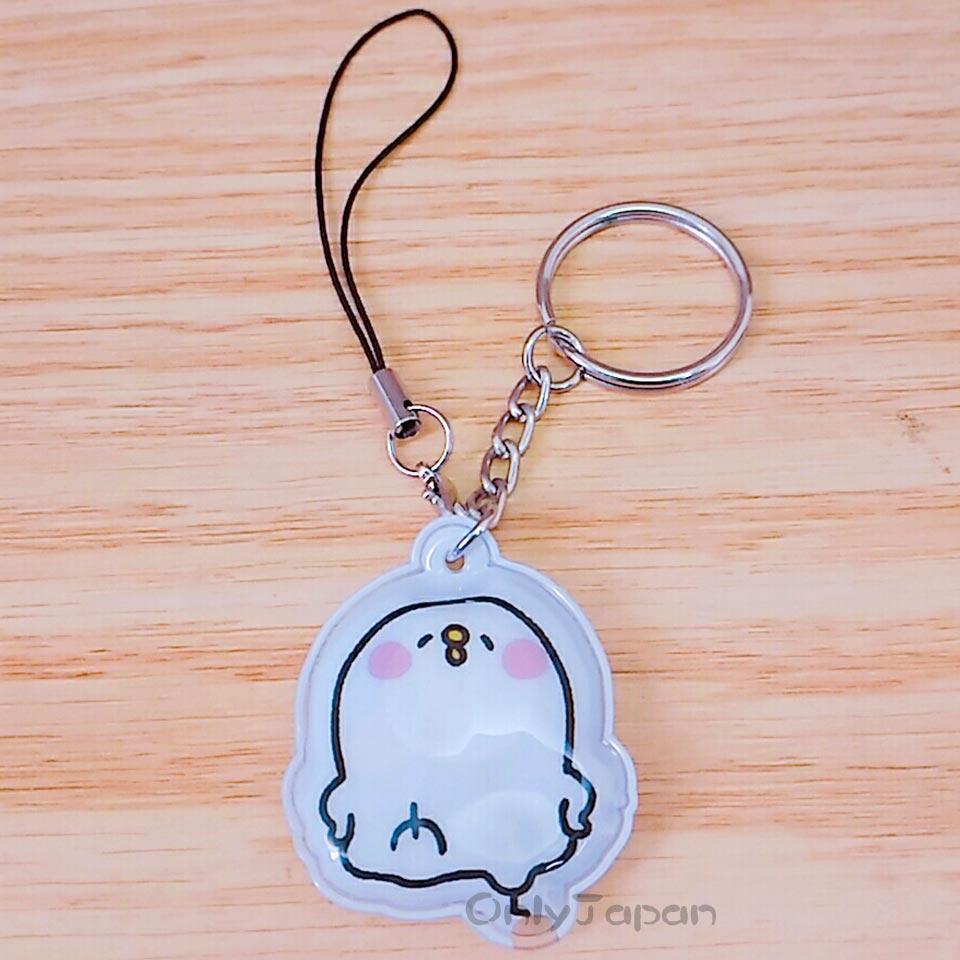 【真愛日本】18011400004 造型LED燈吊飾鎖圈-P助 卡娜赫拉的小動物 兔兔 P助 吊飾 鑰匙圈 LED