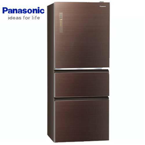 <br/><br/>  【感恩有禮賞】Panasonic 國際 NR-C509NHGS-T  500L 三門 冰箱 翡翠棕 ECONAVI+nanoe? X  無邊框玻璃系列  新1級能源效率<br/><br/>