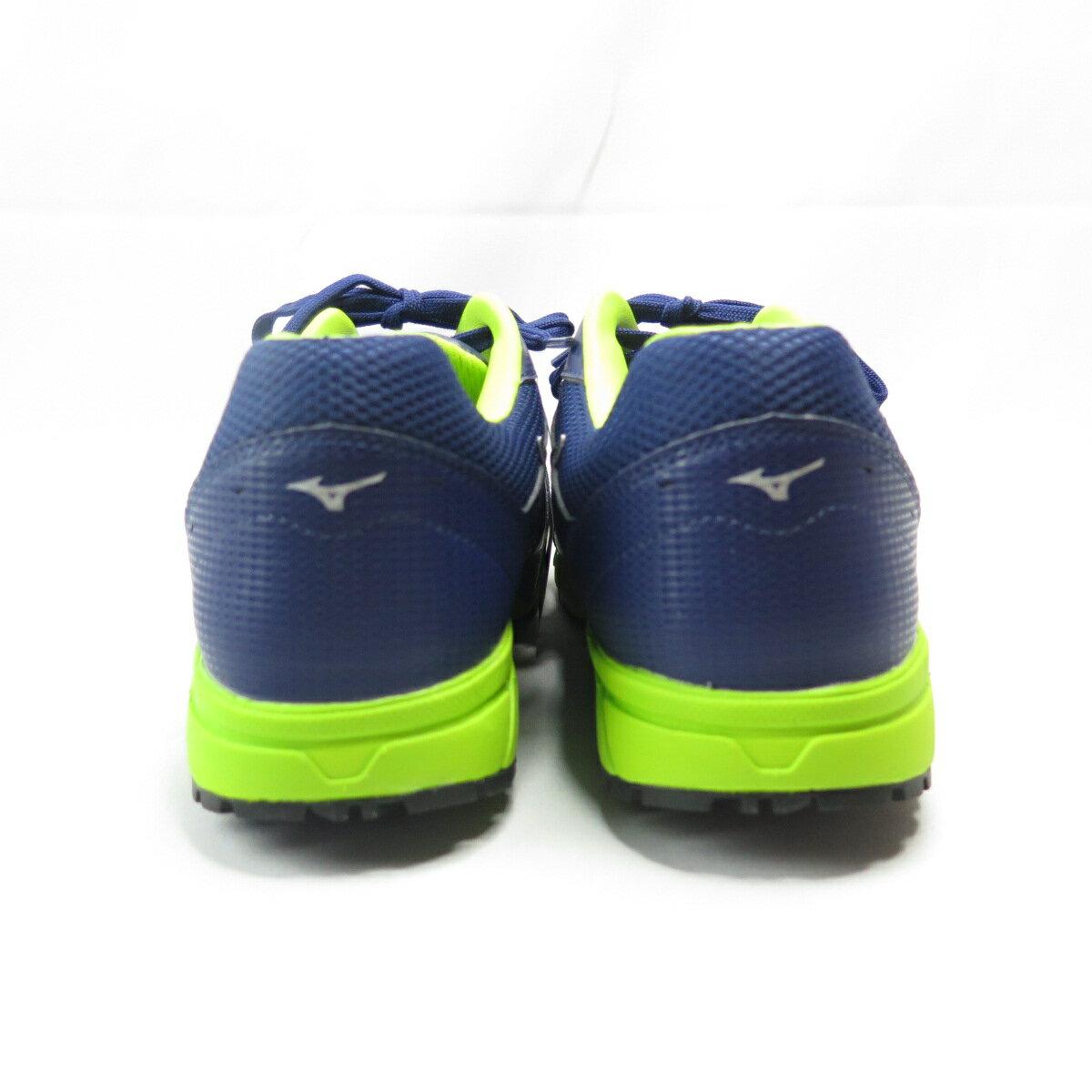 【滿額領券折$150】Mizuno LS防護鞋 男款 工作安全鞋 F1GA200814 藍綠【iSport愛運動】