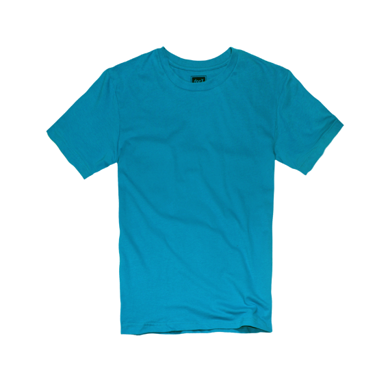 DoctorJ 內搭素面短T-藍色 (男女款T恤皆有)