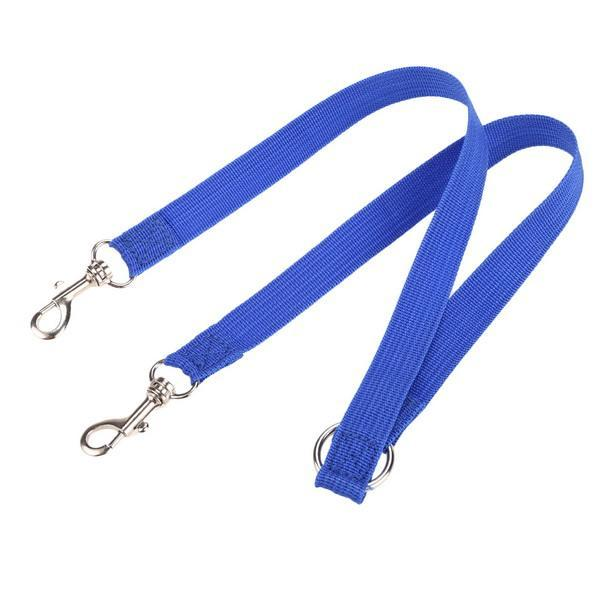 Nylon Strong Double Dog Lead Leash Couple Pet Collar Leash for Collar Harness 4