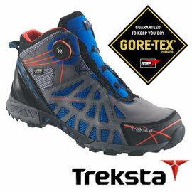 Treksta ADT MID 203 男GTX 防水中筒登山鞋/BOA 蓝 |户外|健行鞋 |登山 KR16KM