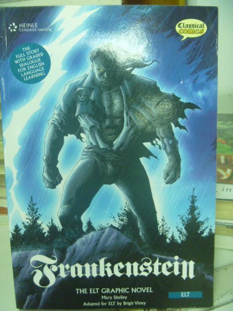 ~書寶 書T3/原文書_YKX~Frankenstein: The Elt Graphic