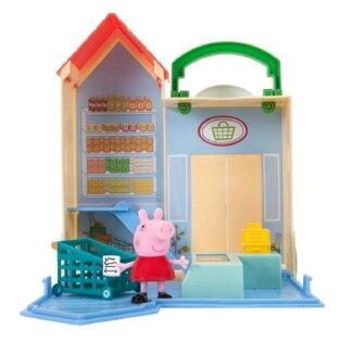《PeppaPig》粉紅豬小妹可愛商店情境組-雜貨店款