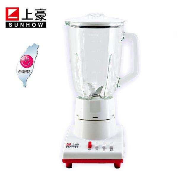 上豪1.5L台灣製玻璃冰果汁機BM-156**免運費**