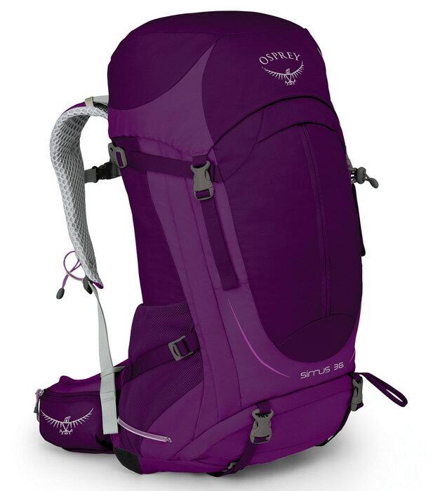 【鄉野情戶外用品店】 Osprey |美國| SIRRUS 36 登山背包《女款》/運動背包 健行背包-秋天紫S/M/Sirrus36 【容量36L】