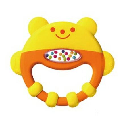 Combi 康貝 小熊手搖固齒玩具【悅兒園婦幼生活館】