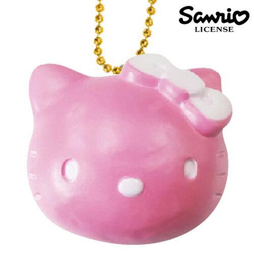 草莓款【日本進口正版】凱蒂貓 HelloKitty 麵包 捏捏吊飾 捏捏樂 美食 軟軟 三麗鷗 - 611468