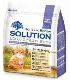 耐吉斯 無穀食譜 成幼貓 低敏護毛配方 精選鱒魚+深海鮭魚 3LB/3磅