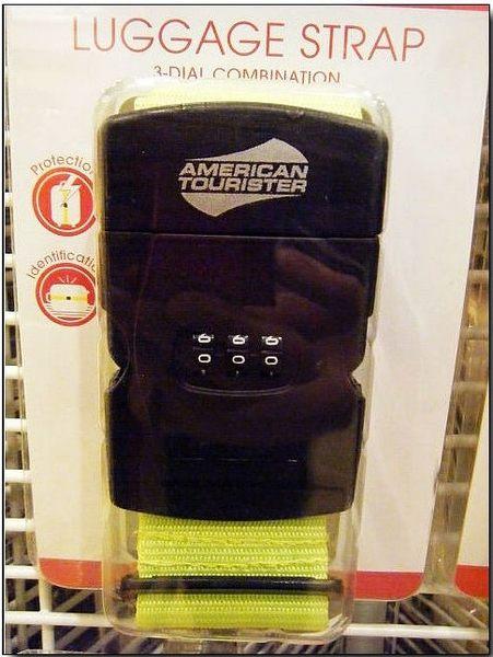 《熊熊先生》新秀麗Samsonite美國旅行者American Tourister 原廠 行李箱旅行箱 三碼密碼鎖束帶/行李箱綁帶