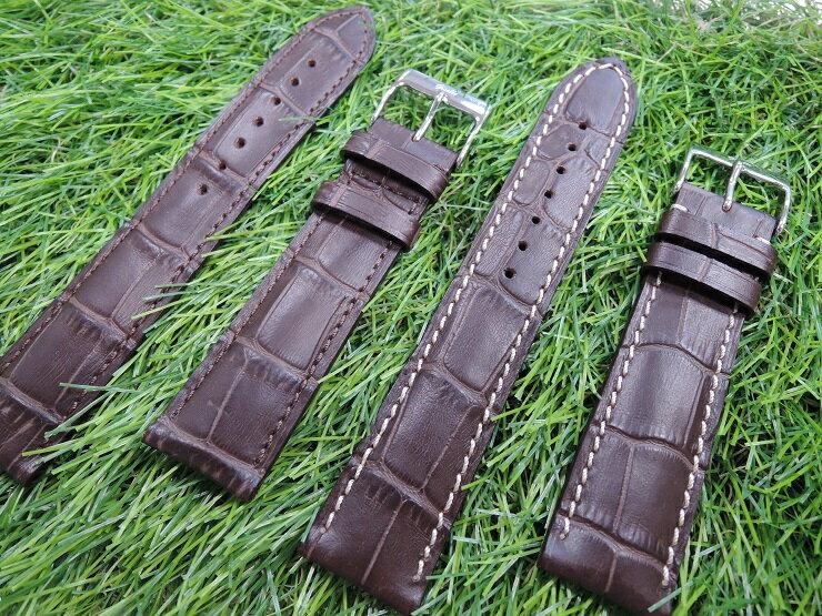 浪琴 LONGINES [20mm收18MM] 代用進口高級錶帶