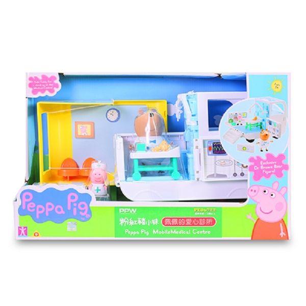粉紅豬小妹佩佩的愛心診所【鯊玩具ToyShark】