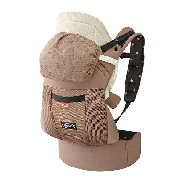 Graco - Roopop Zero CTS 新生兒腰帶型CTS系列揹巾 拿鐵棕