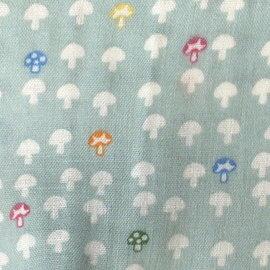 Hoppetta - 蘑菇多功能嬰兒枕 (水藍) 4
