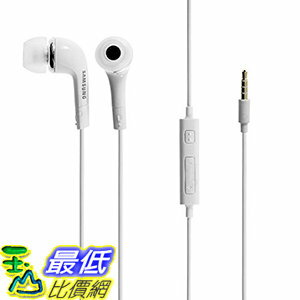 [106美國直購] 耳機 Samsung 3.5mm Stereo Headset for Galaxy S5, S4, S3, Non-Retail B00K7JPHHA - White