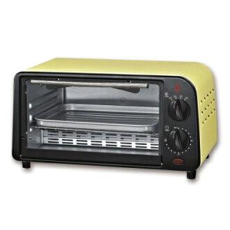 【純米小舖】晶工牌9L鵝黃色小烤箱 JK-609~優惠免運