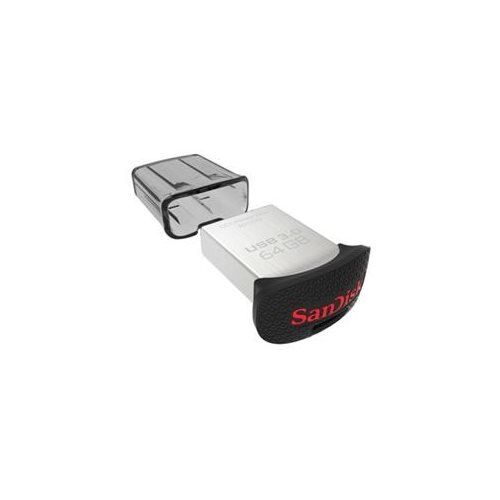 SanDisk Ultra Fit USB 3.0 Flash Drive - 64 GB - USB 3.0 - Password Protection, Encryption Support 1