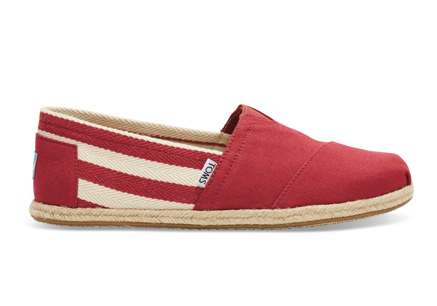 【TOMS】Red Stripe University Men's Classics