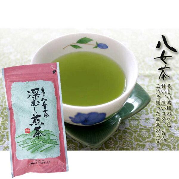 【福岡八女茶】深蒸煎茶日本綠茶2018年新茶100g福岡県八女市の深蒸し八女茶
