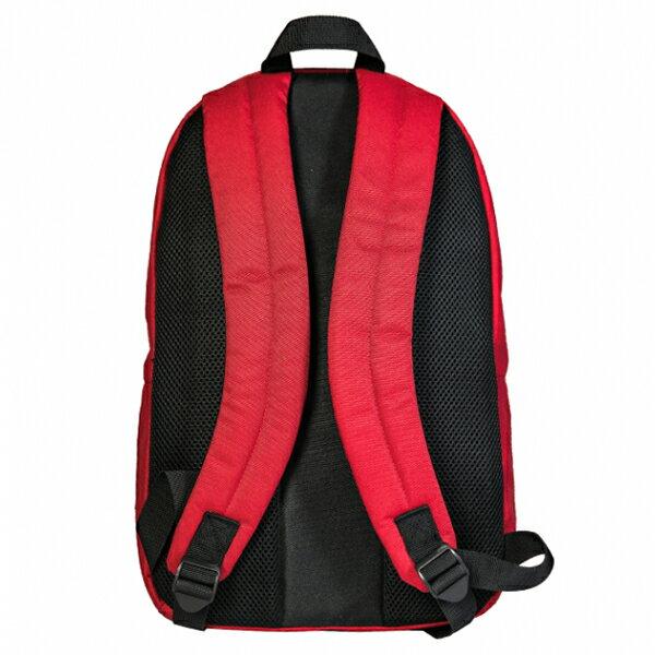 Shoestw【NTBCBPK8RD】NEW BALANCE NB 背包 休閒 運動 後背包 筆電包 紅色 白色大LOGO 3