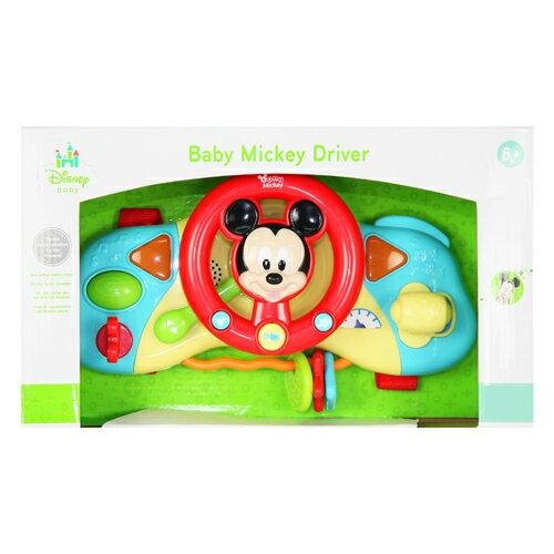 迪士尼嬰兒玩具/床邊方向盤/米奇/Disney/迪士尼/Disney Baby Mickey Driver
