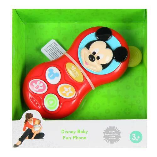 迪士尼嬰兒玩具/米奇電話/米奇/Disney/迪士尼/Disney Baby Fun Phone