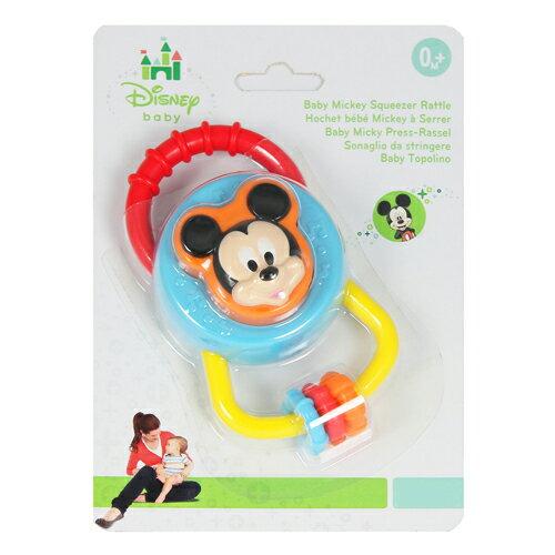 迪士尼嬰兒玩具/米奇搖鈴/米奇/Disney/迪士尼/Baby Mickey Squeezer Rattle
