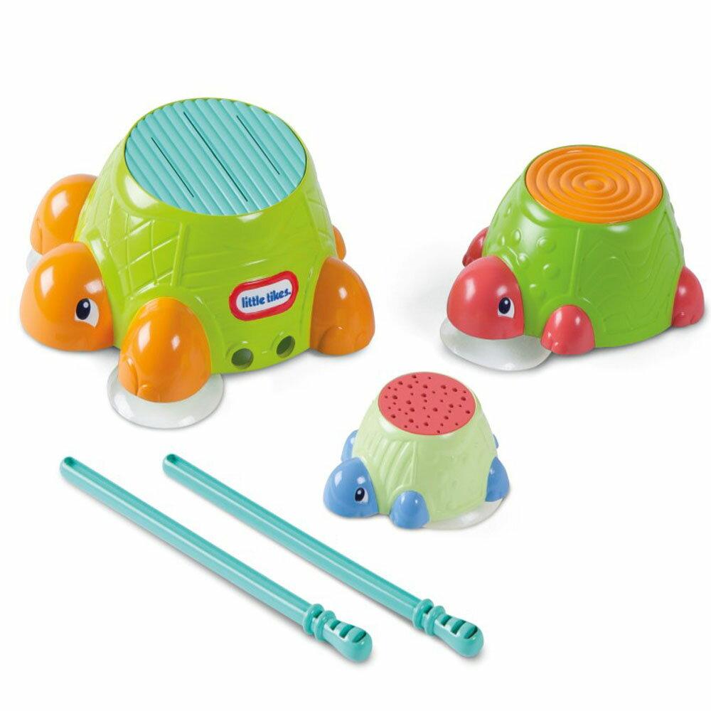 小泰可-小烏龜洗澡鼓/Little Tike/幼兒玩具/形狀積木/消防車/樂器
