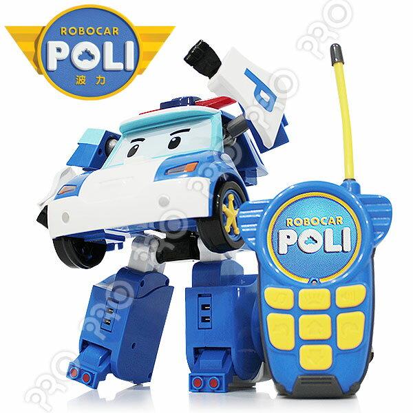 10吋變形遙控波力/ 伯寶行 / ROBOCAR POLI波力 救援小英雄/遙控車/可變形/免運費