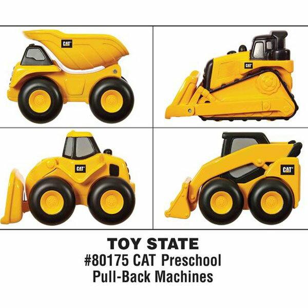 CAT寶寶迴力工程車-4款混裝/工程機具/火車軌道/混裝不挑款隨機出貨