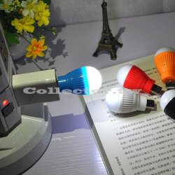 【超取299免運】新款LED迷你USB燈泡 筆電小夜燈 行動電源照明燈 USB泡泡燈