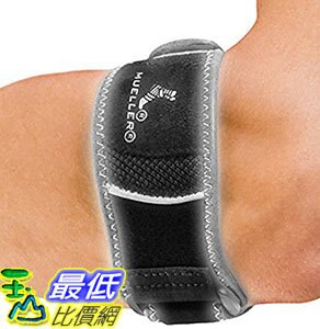 [106美國直購] Mueller 護腕 Sports Medicine HG80 Premium Tennis Elbow, Small/Medium, 0.21 Pound