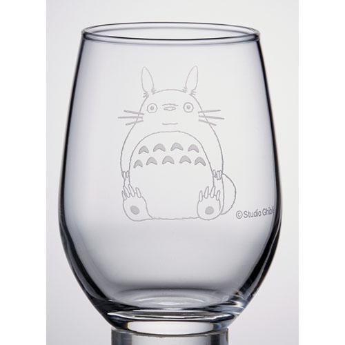 【真愛日本】16081500001日本製精雕水晶杯-龍貓背包袱  龍貓 TOTORO 豆豆龍 水杯 玻璃杯 收藏 日本製