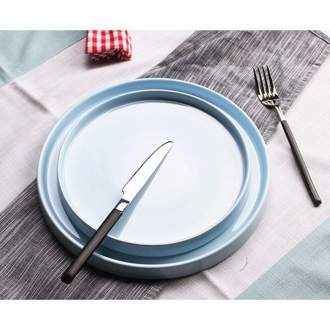 麵包試吃盤 帶蓋蛋糕罩 圓形蛋糕點心盤慕斯甜品託盤甜品臺展示架 艾琴海小屋