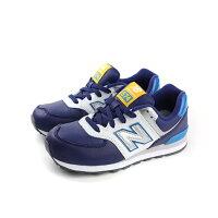 New Balance 美國慢跑鞋/跑步鞋推薦New Balance  574系列 跑鞋 藍色 童 no246