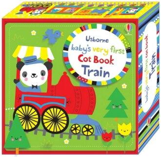 Baby's Very First Cot Book Train 寶寶的第一本床圍布書-火車篇